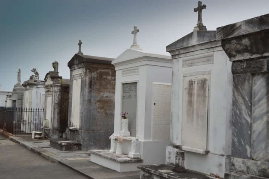 above ground tombs in New Orleans